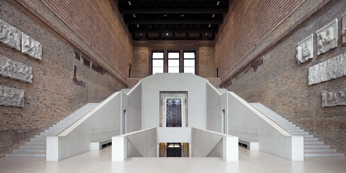 Architekturfotografie Till Schuster Neues Museum Berlin David